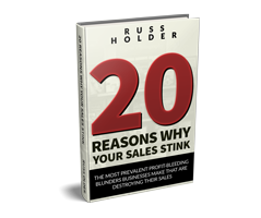 20 Reasons Why Sales Stink 3D cover