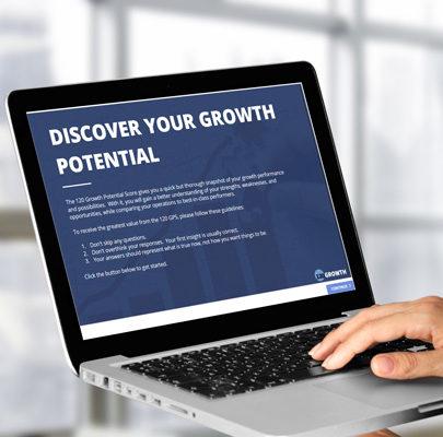 120 Growth Starter Kit laptop mockup