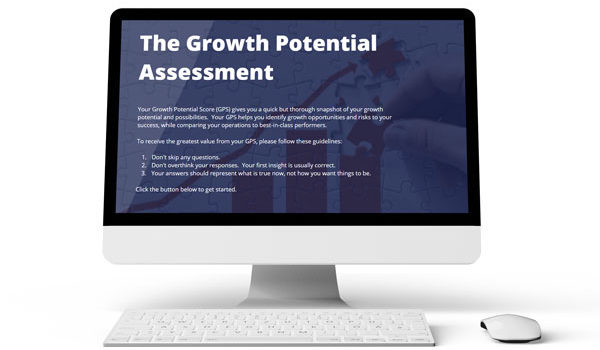 Growth Potential Assessment monitor